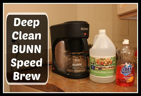You have two strategies for ridding your coffee pot of limescale: HOW TO: Deep Clean BUNN Speed Brew coffee maker using ...
