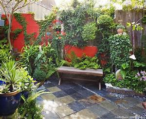 emejing jardin idee photos awesome interior home With lovely idee de massif de jardin 11 amenager son jardin mediterraneen