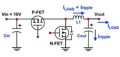 synchronous buck converter with ne555 and lm311 page 1