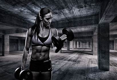 Sports Fitness Muscle Dumbbell Weightlifting Wallpapers Monochrome