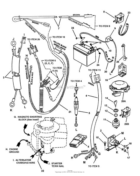 Lawn Mower Ignition Switch Wiring Diagram Key