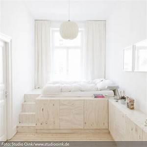 Bett Auf Podest : ber ideen zu podestbett auf pinterest podest wei es bett und sleep inspiration ~ Sanjose-hotels-ca.com Haus und Dekorationen
