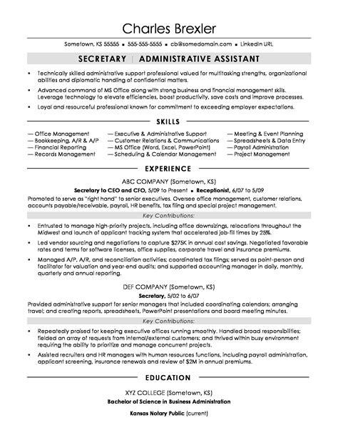 Secretary Resume Sample  Monsterm. Network Administrator Resume. Communications Manager Resume. Auto Parts Manager Resume. Listing Computer Skills On Resume Example. Resume Cv Template. Functional Format Resume. Resume Objective Examples Hospitality. Pl Sql Developer Resume