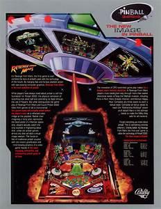 The Arcade Flyer Archive - Pinball Machine Flyers: Revenge ...