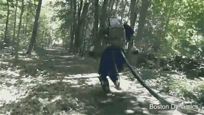 Forest Robot Tall Through Terminator Dynamics Humanoid