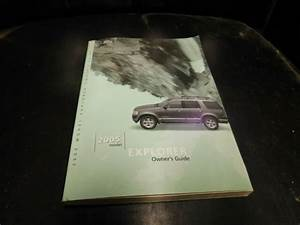 Js Owners Manual Guide Book 2005 Ford Explorer