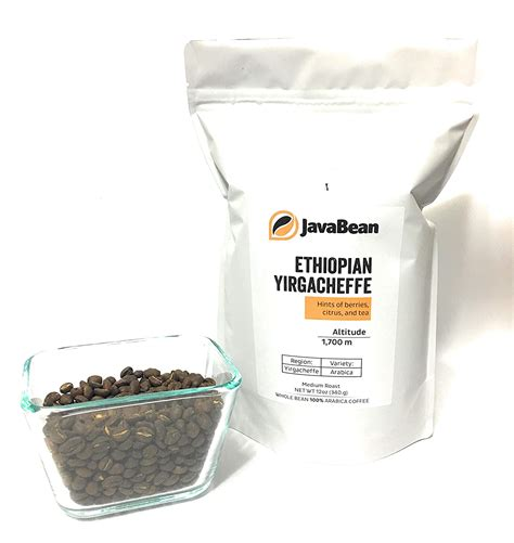 Medium acidity with a bittersweet and ethiopian yirgacheffe. Ethiopian Yirgacheffe Whole Bean Coffee, 12 oz. $14.95