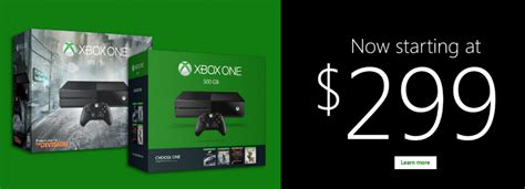 xbox one price officially dropped to 299