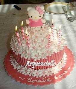 Gateau Anniversaire 2 Ans : photo d coration gateau anniversaire fille 6 ans 2 ~ Farleysfitness.com Idées de Décoration