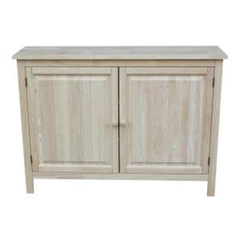 Unfinished Wood Cabinet Doors Home Depot by International Concepts Unfinished Storage Cabinet Cu 160