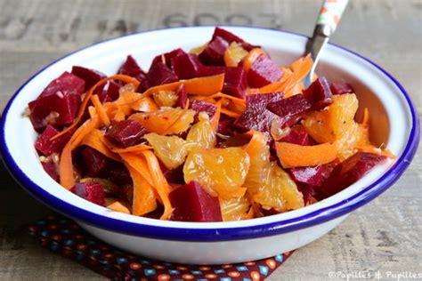 reste de cuisine salade de betteraves oranges et carottes