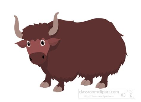Yak Clipart Yak Clipart Clipart Yak Asian Herd Animal Clipart 725