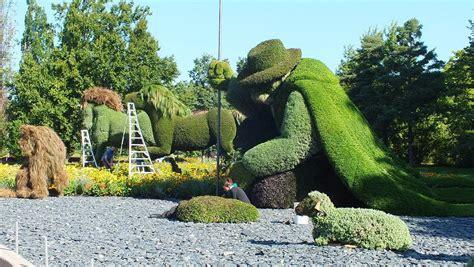 Botanischer Garten Montreal by Mosaiculture 2013 At Montreal Botanical Gardens