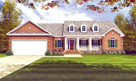 classic traditional house plan mm architectural