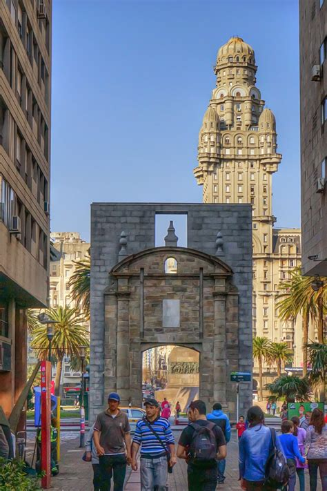 Gateway of the Citadel in Montevideo, Uruguay | The ...