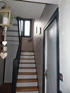 ti case en bois With couleur pour cage d escalier 8 une deco pour petit budjet la cage descalier