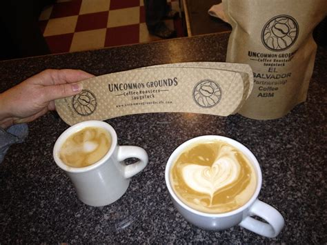Join us as we journey to the far reaches of the world to tell of these uncommon grounds. Uncommon Coffee Roasters - Saugatuck Michigan Restaurant - HappyCow
