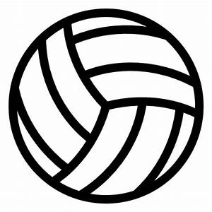 Volleyball Icon - Cliparts.co