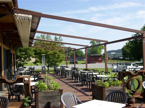 restaurant owners pergola benefits retractable deck patio awnings