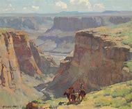 Edgar Payne Western Landscape Painting