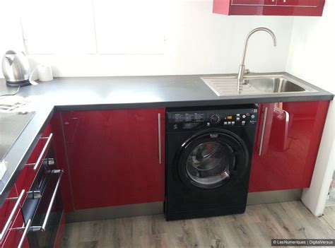 lave linge cuisine plan de travail sur lave linge 28 images lave