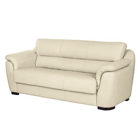 sofa 2 sitzer mit schlaffunktion sofa alzira 3 sitzer kunstleder mit schlaffunktion ecru fredriks kaufen bei woonio