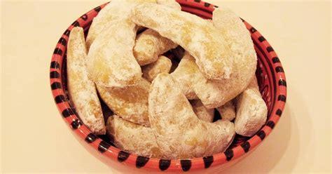 recette petit croissant lune noisette  vanille