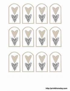 9 best images of printable wedding tags template free With how to print tags for favors