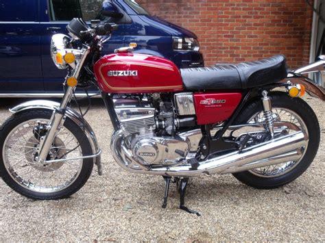 1976 Suzuki Gt550 restored suzuki gt550 1976 photographs at classic bikes