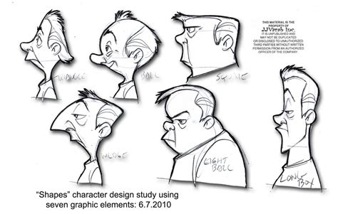 character design part shapes eemeileong