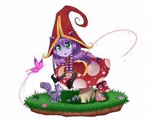 LoL: Lulu Chibi~ by xXTayRawrrXx on DeviantArt