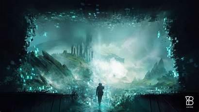 Ocean Vr Storm Reality Virtual Deviantart Jjcanvas
