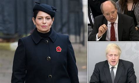 Priti Patel 'will get written warning over staff bullying ...