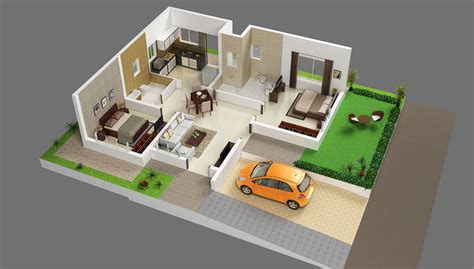 This 2bhk home's living room is designed with patterned wallpaper, a sectional sofa, and vitrified tiles. 2 BHK for sale at hosur on ring road mookandapalli   Zeel ...