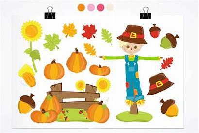 Clipart Harvest Fall Graphics Illustrations Graphic Prettygrafik