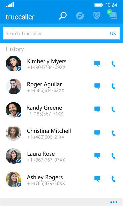 truecaller updates windows 10 mobile app with offline caller id