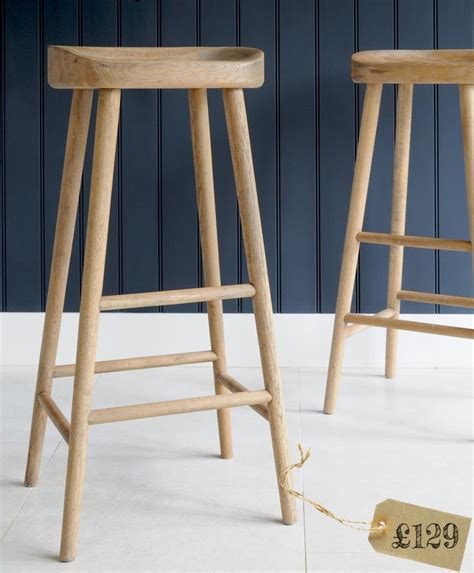 weathered oak bar stool for the home