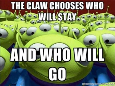 Toy Story Aliens Meme - claw quotes quotesgram