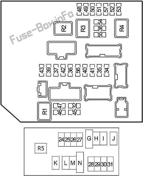 2011 Nissan Xterra Fuse Diagram by Fuse Box Diagram Gt Nissan Xterra N50 2005 2015