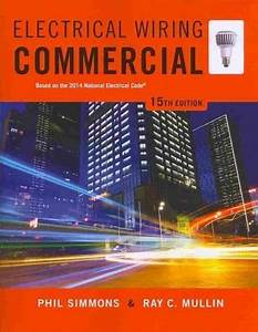 Electrical Wiring Commercial  Based On The 2014 National