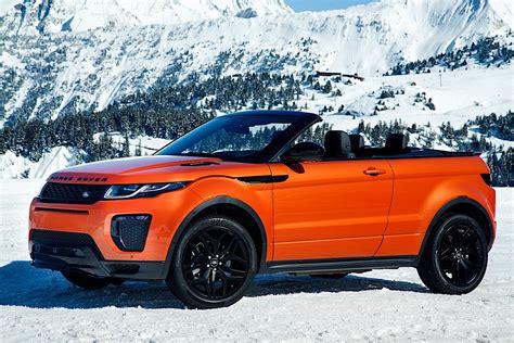 Land Rover Range Rover Evoque Convertible 2018