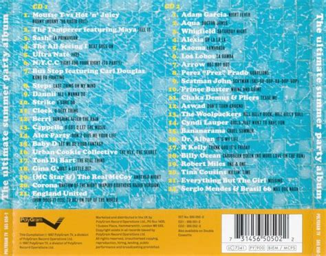 The Ultimate Summer Party Album (1997