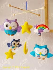 Baby Owl Crib Mobile