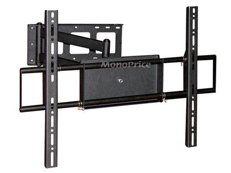 tv on wall mount corner motion tv wall mount bracket max