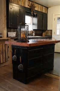 Reclaimed Kitchen Island Pallets Kitchen Island Thrifted Dresser Repurpose Countertop Chalk Paint Countertops Diy Jpg