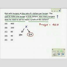 Gmat Math Practice Test Youtube
