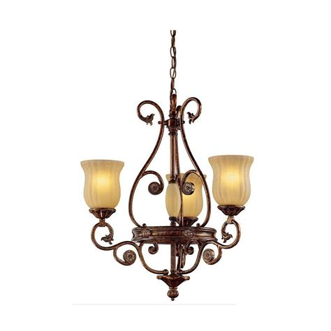 Chandeliers Lighting Collections by Hton Bay Freemont Collection 3 Light Hanging Antique