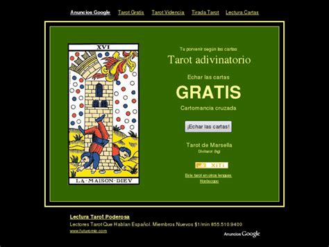 Cartomancia Cruzada Net: Tu porvenir según las cartas