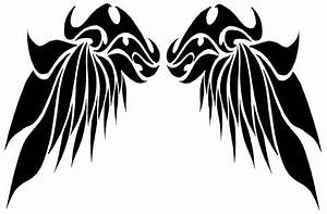 Tribal wings design