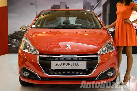 peugeot 208 range 2017 peugeot 208 facelift launched in malaysia 1 2l turbo